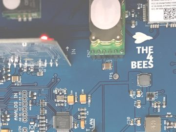 Here the new sensing board for THE4BEES project