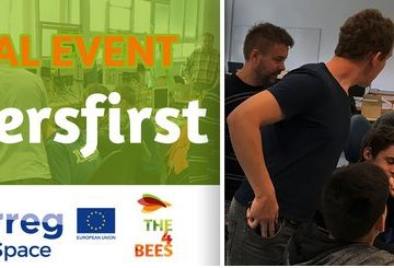 THE4BEES' final event – #Usersfirst – Tuesday 23 October, 2018 – Turin