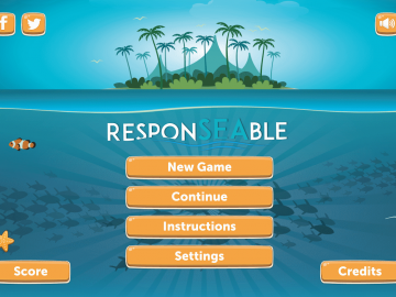 A learning game for ocean literacy and education to sustainability