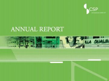 Rapporto Annuale 2007