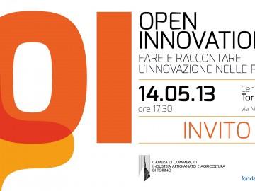 """OpenAlps al seminario """"OPEN INNOVATION. FARE E RACCONTARE L'INNOVAZIONE NELLE PMI"""", Torino, 14 maggio"""