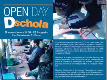 Open Day Dschola: appuntamento il 28 Novembre