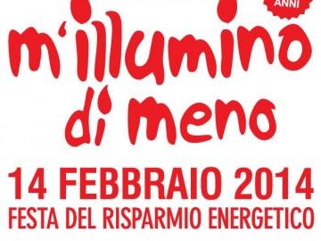 M'illumino di meno: 14 febbraio giornata del risparmio energetico
