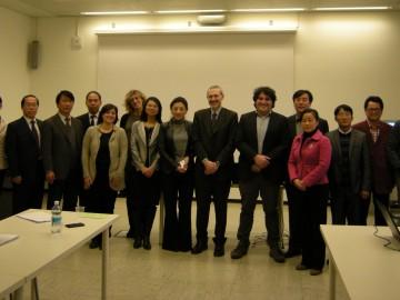 Una delegazione cinese per i progetti di agricoltura di precisione di CSP