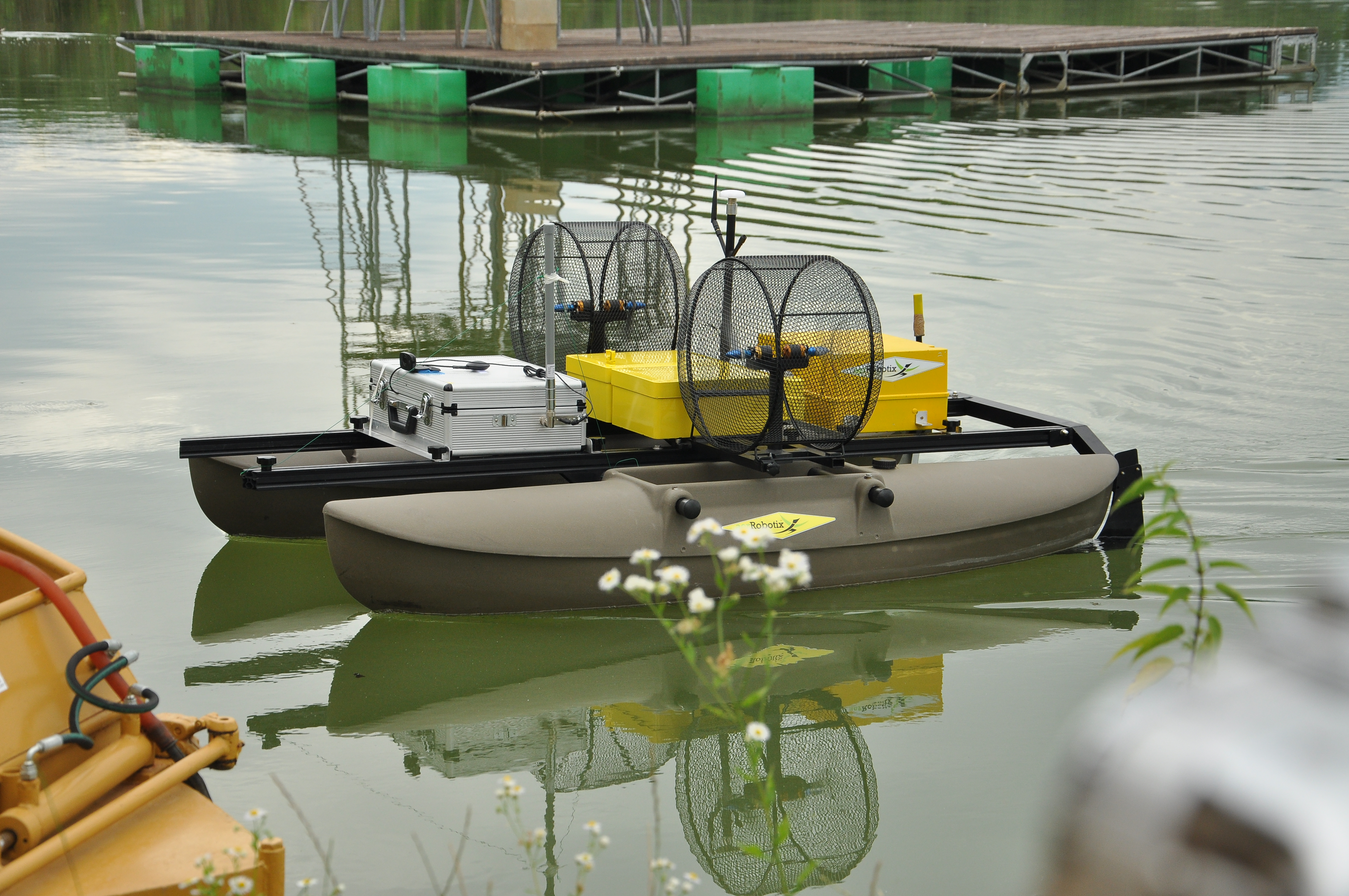 Il drone natante