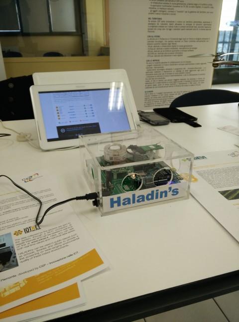 Lampada misura smog indoor Haladin's